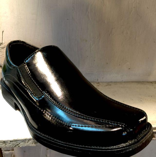 🎥型男必備鞋款🔝百搭方頭黑皮鞋(店到店免運)