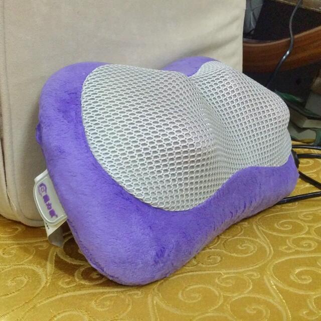 全新👍溫控按摩枕 免運費