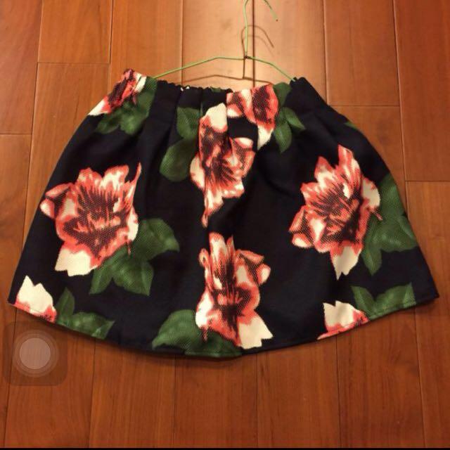 花朵 圓短裙🌸🌸🌸