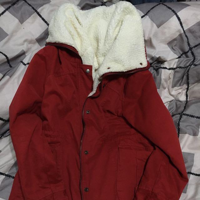 含運大紅 保暖外套 降價