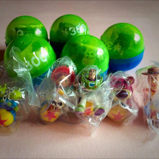 絕版 玩具總動員 3D眼鏡 扭蛋