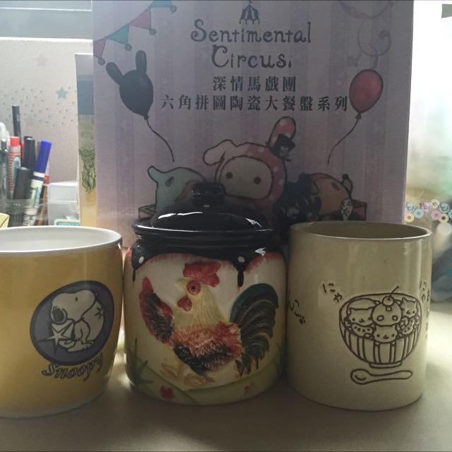 茶杯 盤子 全新 //分售