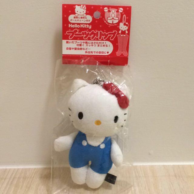 日本帶回 🇯🇵 kitty 雪靴夾 長靴夾