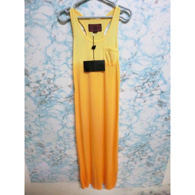 🌟全新 漸層黃S號長裙