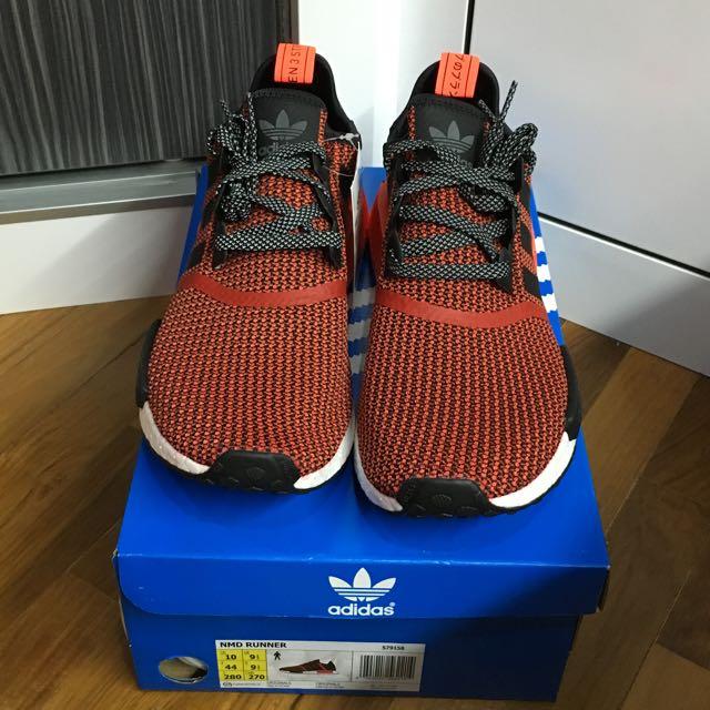 e075502fa Adidas NMD Runner R1 Lush Red Circa