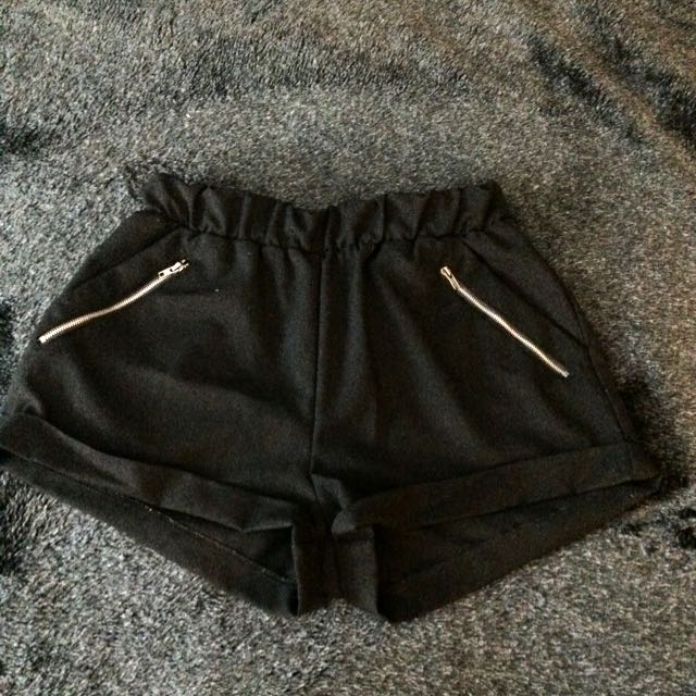 Black Small Supre Shorts