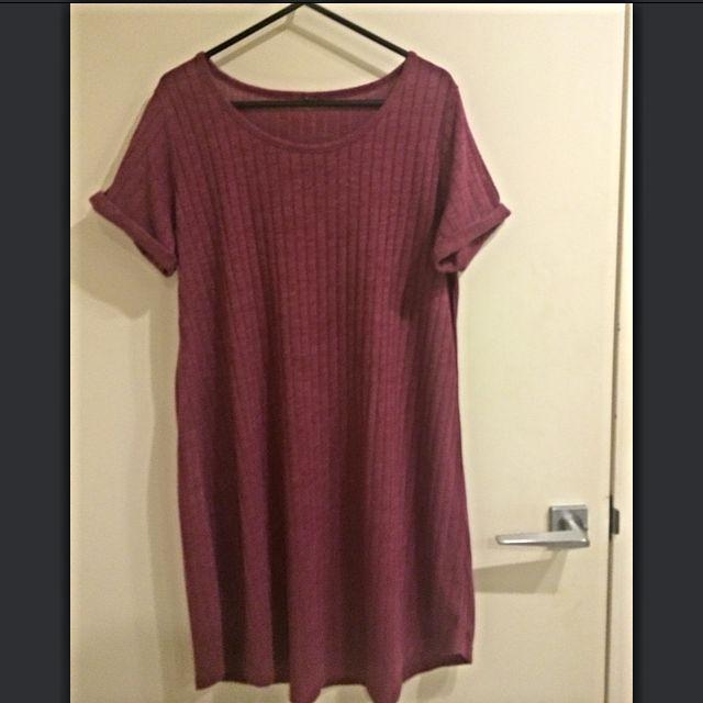 Cotton Boyfriend Tshirt Dress