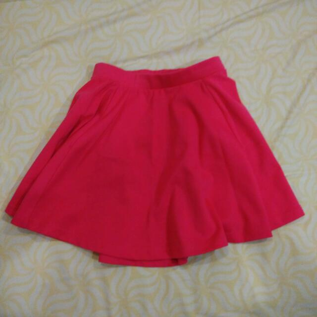 Cotton On Pink Skater Skirt