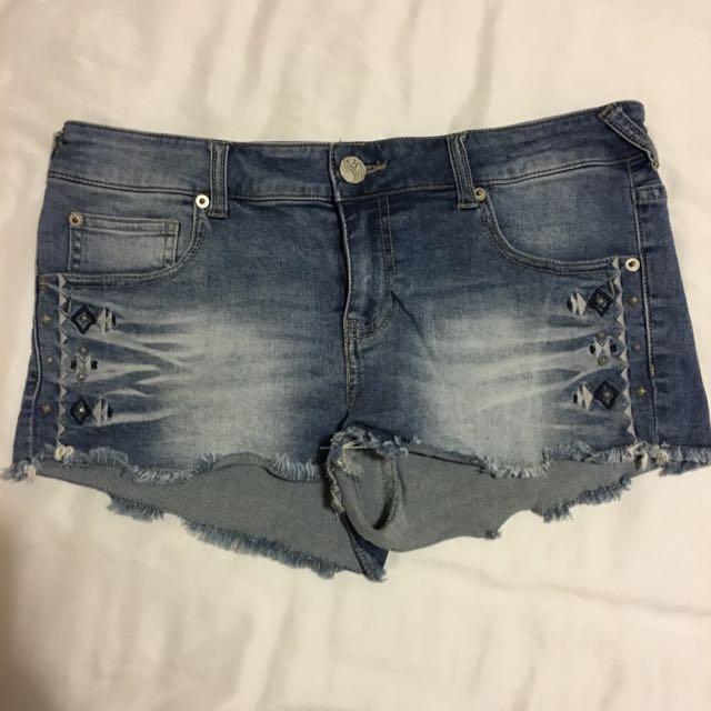 Denim Shorts Size 10/12