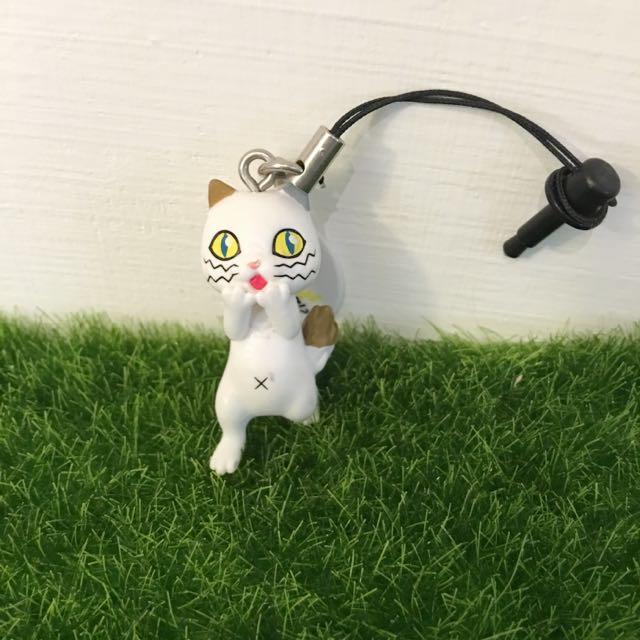 免運✨扭蛋/轉蛋👉DHC 球川良子貓 耳機塞 Line貼圖貓