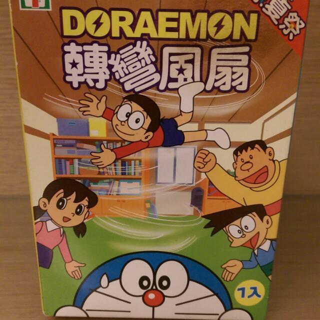 DORAEMON 哆啦A夢 酷炫風扇 全新未拆封