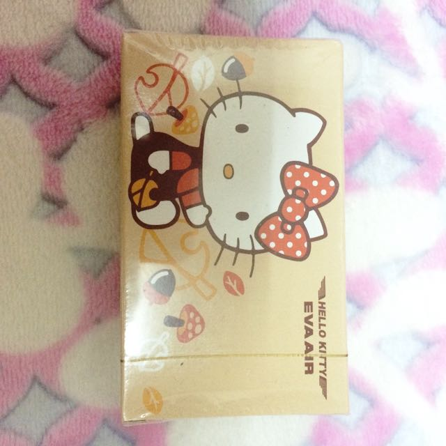 《全新》Eva Air Hello Kitty 撲克牌
