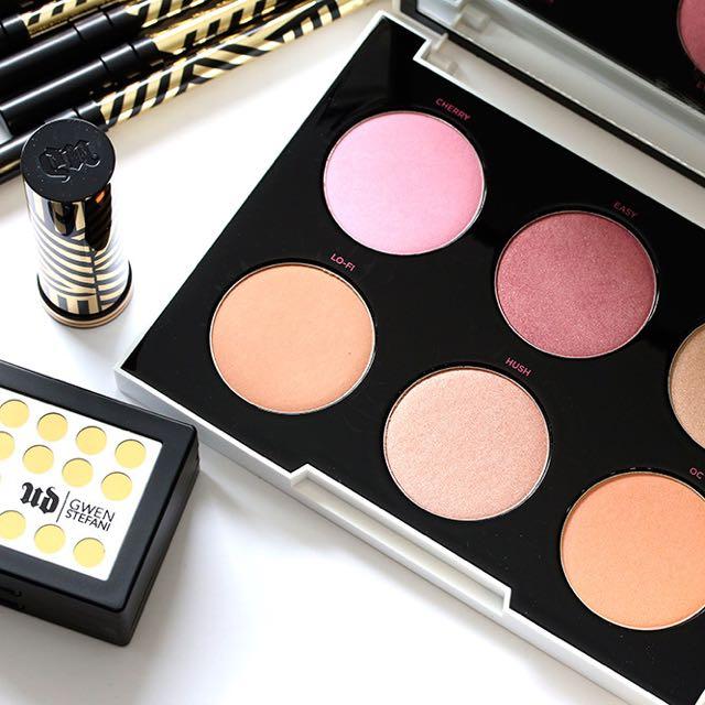 Gwen Stefani X Urban Decay Blush Palette 六色腮紅盤