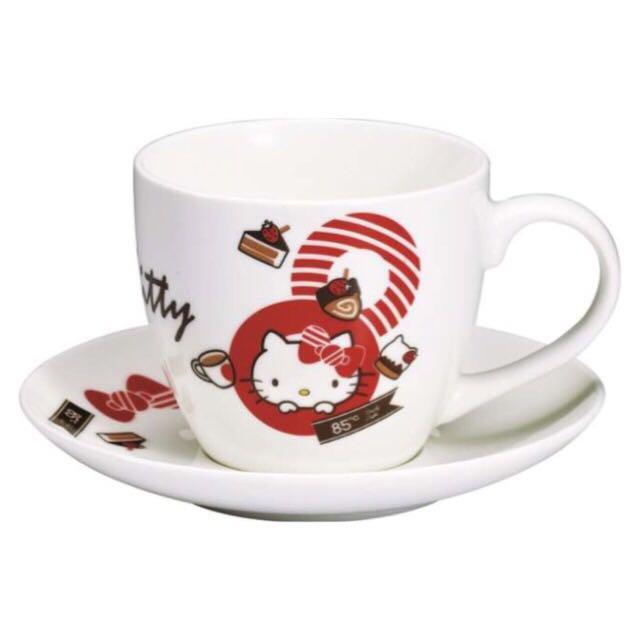 Hello Kitty限量杯盤組x3(可單買)