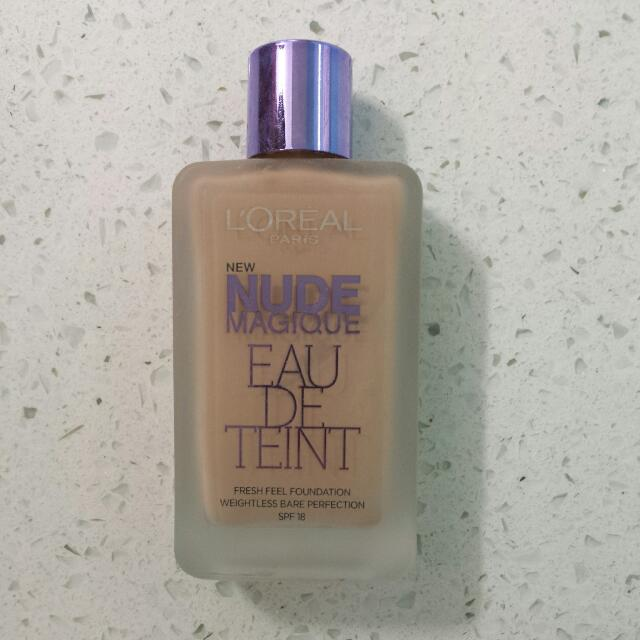 Loreal Nude Magique Foundation