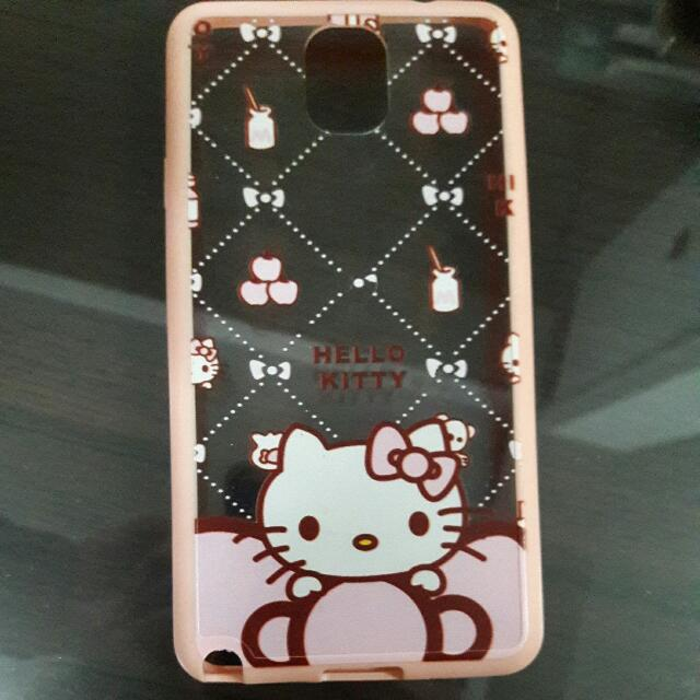 Note3 硬殼手機殼kitty