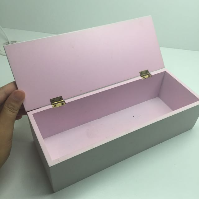 Pastel Pink Jewellery Box