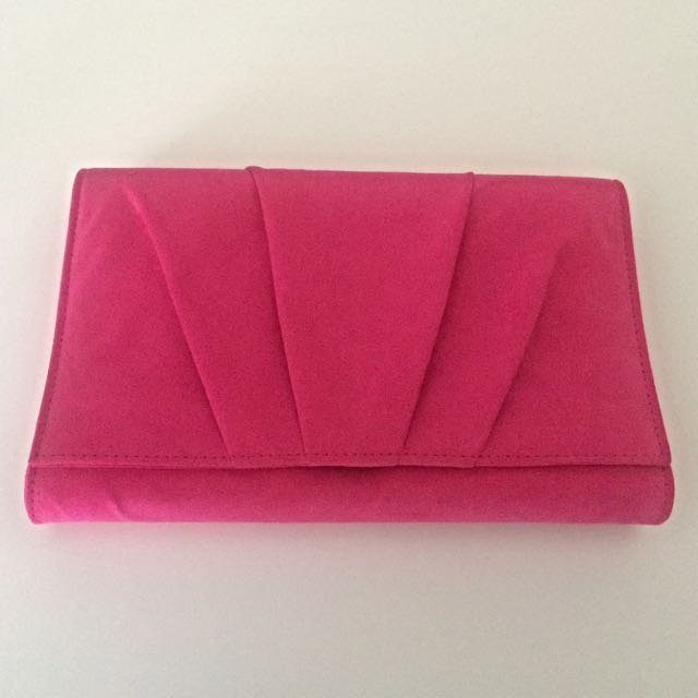 Pink Betts Clutch