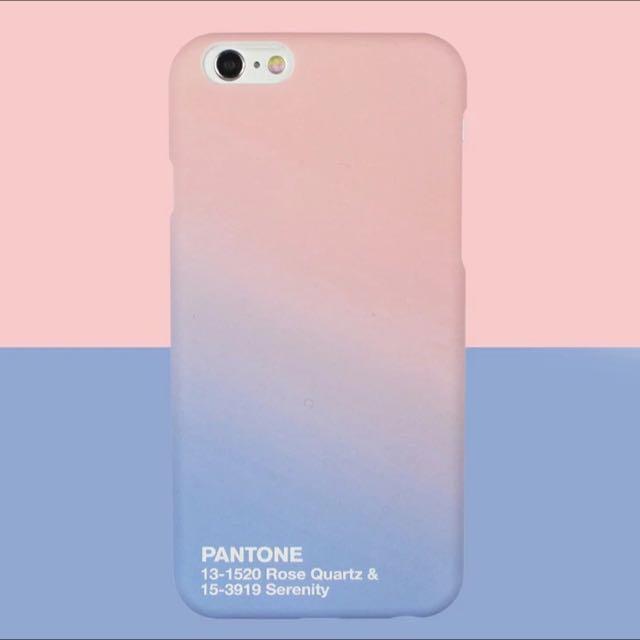 online store 24227 4da8e [PO] Pantone Colour of the Year 2016 Rose Quartz & Serenity Phone Case