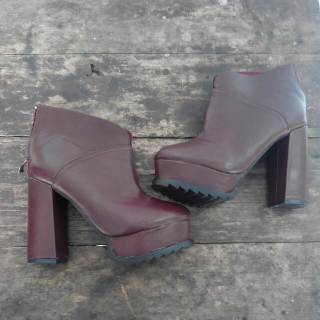 JUAL CEPET BU - Koumi Koumi Ankle Boots