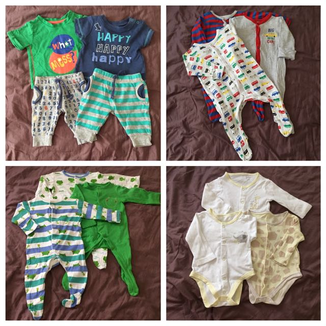 Preloved Mothercare Baby Clothes