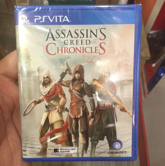 Ps Vita Assassin S Creed Chronicles Toys Games On Carousell