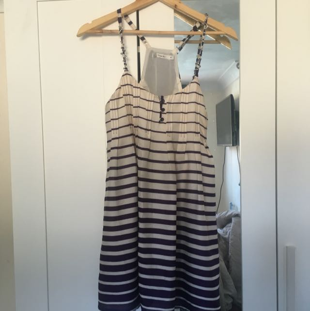 Purple Stripe Dress!