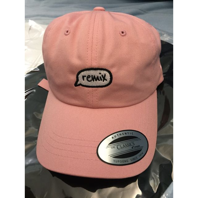 🎩Remix 老帽 粉色