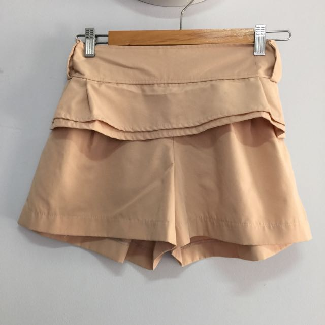 Ruffle front detailing skorts size S