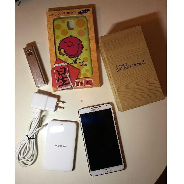 SAMSUNG NOTE3 4G LTE版 16G+16G 大全配 雙電池 耳機未拆 電池充 手機殼