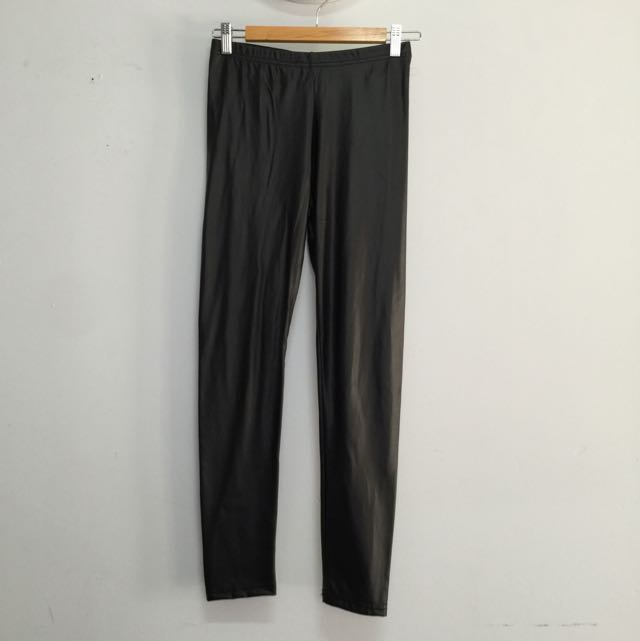 Supre Leather-look pants size 8