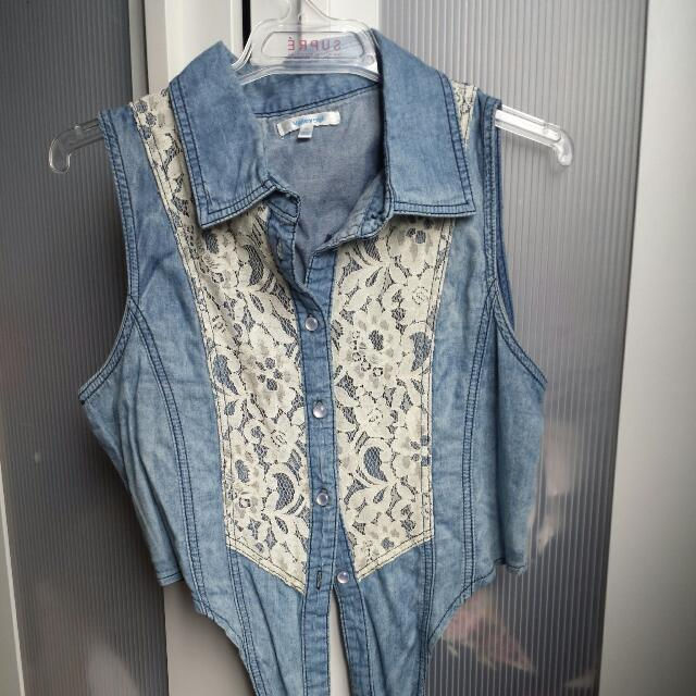 Valley girl Cropped Vest