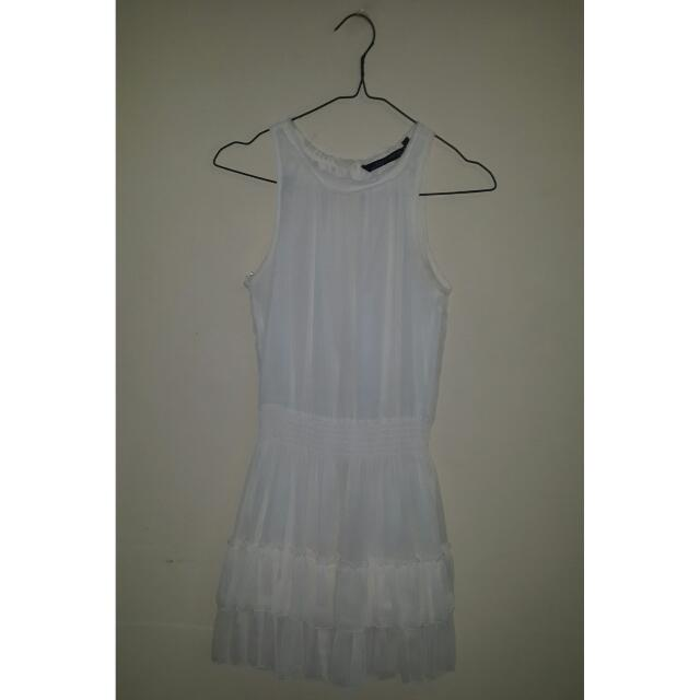 Zara Ruffle Mini Dress