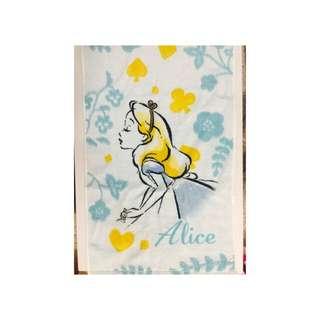 Alice on Wednesday愛麗絲毛巾