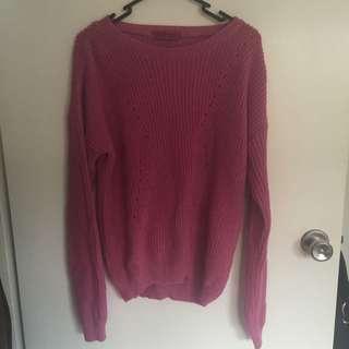 Boohoo knitted jumper
