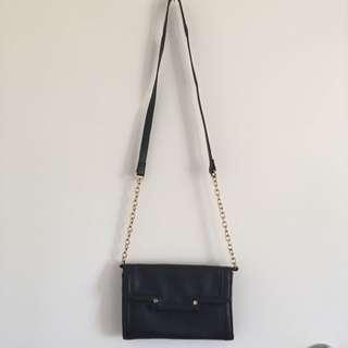 Sports Girl Gold Chain Bag