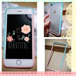 [降]iPhone 6 粉色邊框殼 手機殼