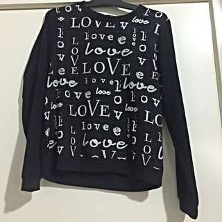 L.O.V.E (sweater Top)
