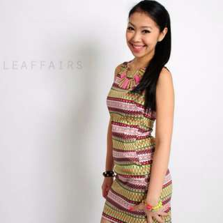 Clearance - BN Printed Aztec Dress (include free normal mail)