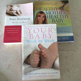 Newborn/Motherhood Books