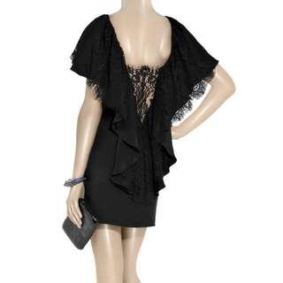 BNWT SOLD OUT Paul & Joe Barbie Lace Ruffle Dress in Black