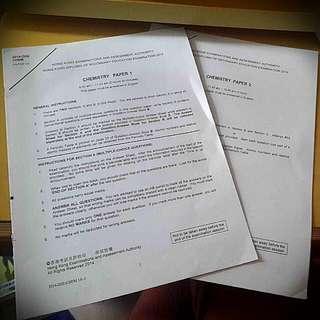 2014 Chemistry Exam Paper