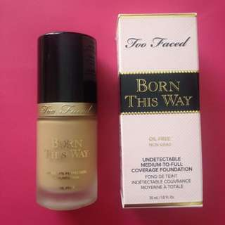 PENDING too faced born this way founndatio
