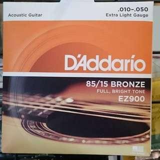 Daddario  ez900  木吉他弦
