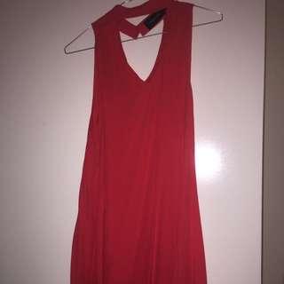 Red Mink Pink Dress Size 8