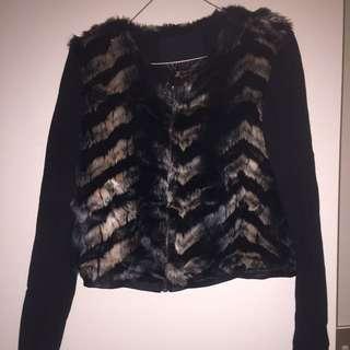 Wish Fur Jacket Size s
