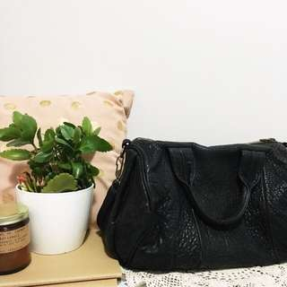 🌿 ALEXANDER WANG leather Textured Rocco Bag
