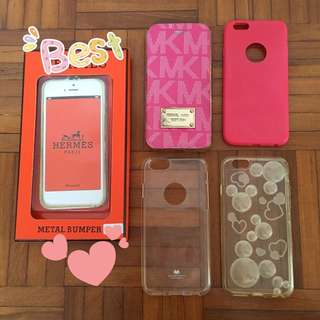 (REDUCED PRICE) iPhone 6/6s Casings
