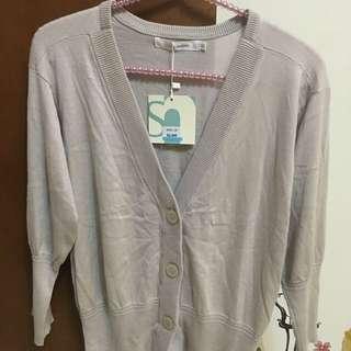 【商品名稱 】獨身貴族杏色針織外套S-XL號