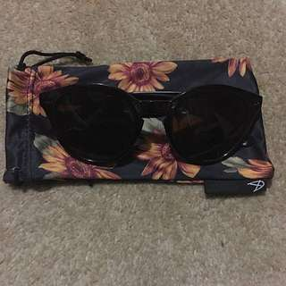 Minkpink Black Sunglasses
